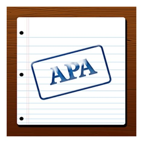 Thesis in apa format